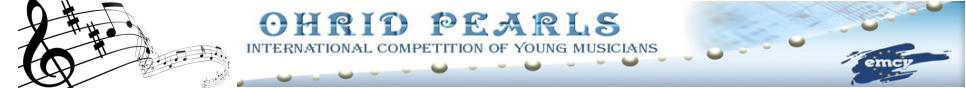 Ohrid Pearls  - International Competition for Young Musicians